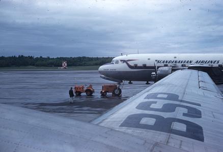 Scandinavian Airlines airplane