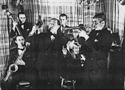 Bunny Berigan and others in recording sessions