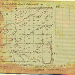 [Public Land Survey System map: Wisconsin Township 33 North, Range 04 West]