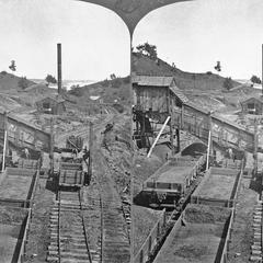 Coal mine for fueling steamboats