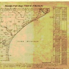 [Public Land Survey System map: Wisconsin Township 19 North, Range 24 East]