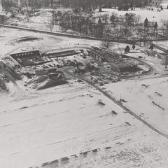 Construction of the campus, Janesville, ca. 1965