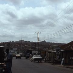 Road through Ibadan