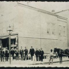 Schuette employees 1889