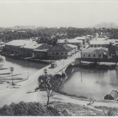 Capiz Bridge and municipality, Capiz, 1930