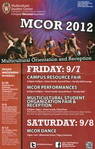 Poster for 2012 MCOR
