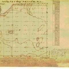 [Public Land Survey System map: Wisconsin Township 04 North, Range 13 East]