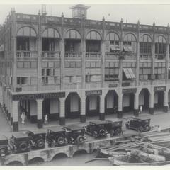 Pacific Motors salesroom, Manila, 1928