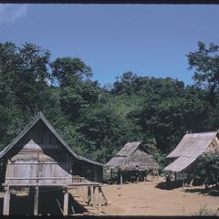 Prosperous Kammu (Khmu') village