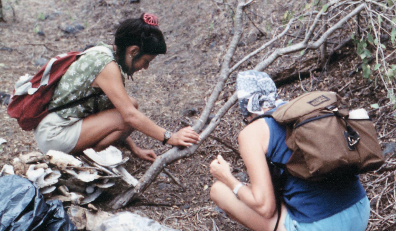 Mao Ortuga and Gayle S. Davis-Merlen (Field Assitants)