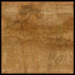 Whitewater Township plat map, 1857