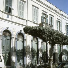 Italian-Style Houses Built Around 1900 in Tripoli