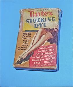Tintex stocking dye