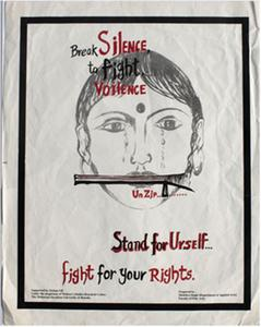 Break silence to fight violence