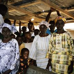 People at market in Osun