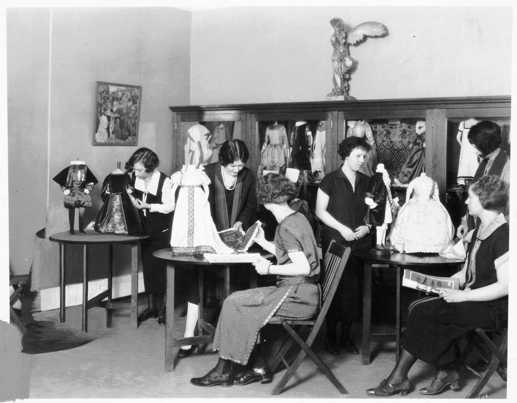 History of costume laboratory