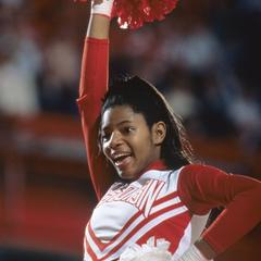 UW cheerleader