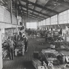 Machine shop at McDougall Duluth