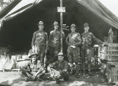 Men at Camp Douglas
