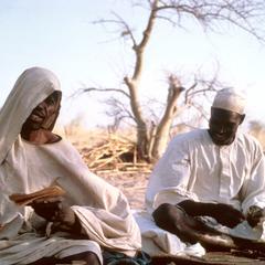 Priest Reading Marriage Prayer during Kanuri Wedding