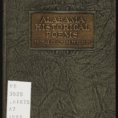 Alabama historical poems