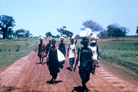 Women Going to Market