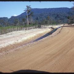 Below dam--ditch