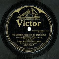 Fritz Schultzes Reise nach der alten Heimat