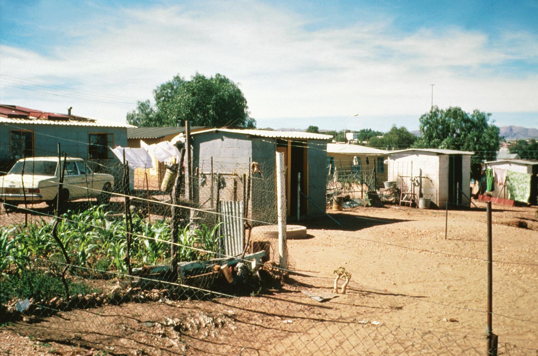Housing in Katatura Township
