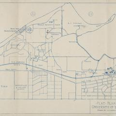 Plan, UW-Madison, 1924