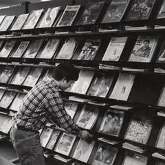 Current periodicals display