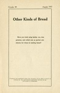 Other kinds of bread