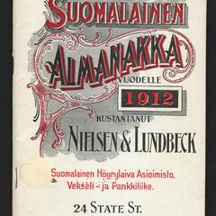 Suomalainen almanakka ja kalenteri.