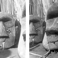 Kuba-Ngongo Masks