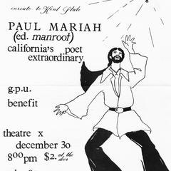Benefit Poster - Poet