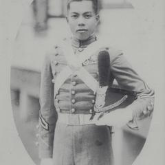 Cadet with hat, Baguio