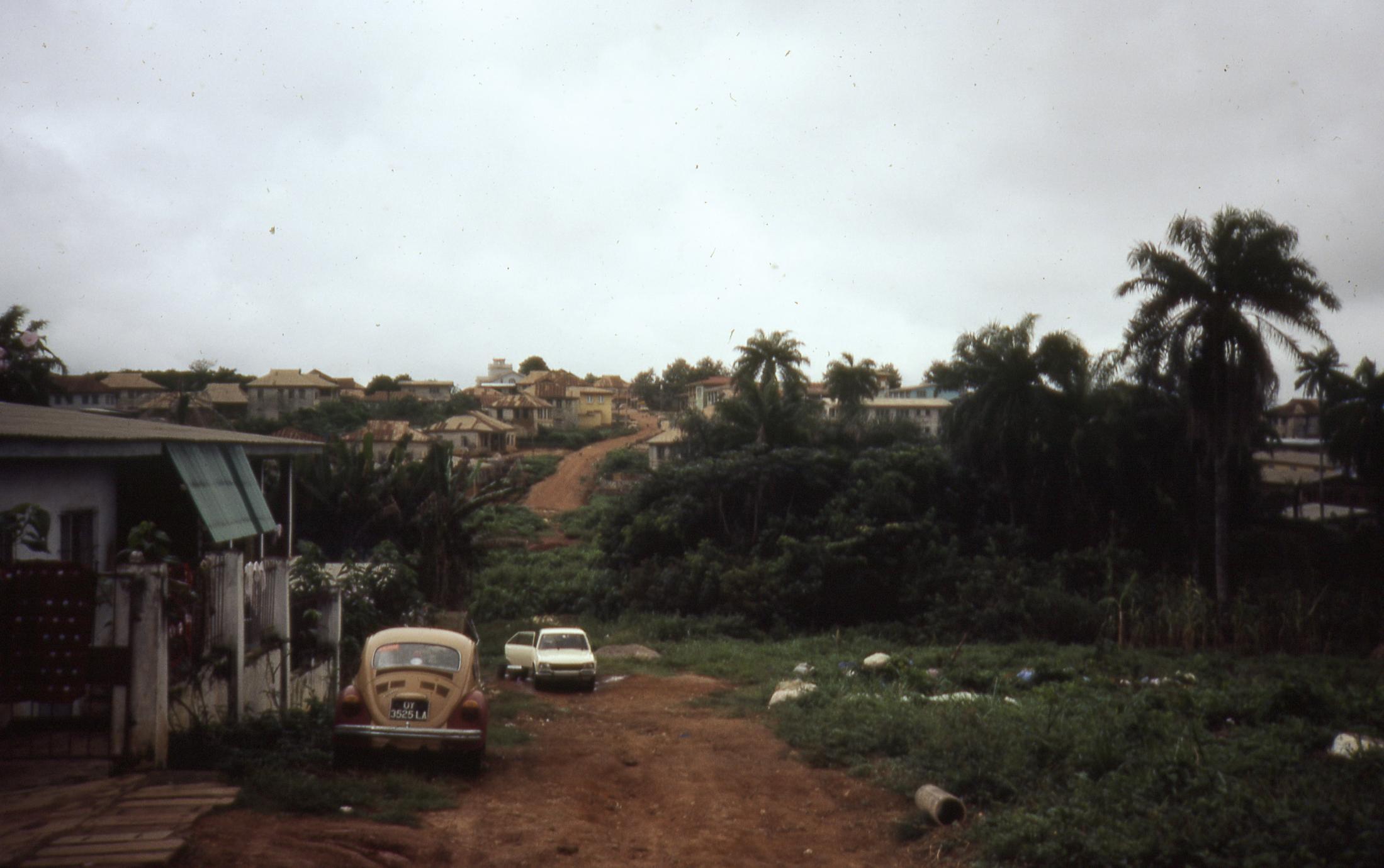 Back road into Ilesa
