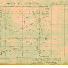 [Public Land Survey System map: Wisconsin Township 24 North, Range 06 East]