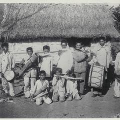 Village band, Visayas, ca. 1920-1930