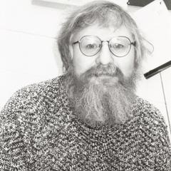 Peter Vachuska in his office