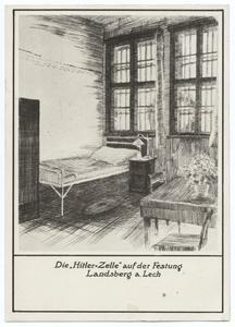 Die 'Hitler-Zelle' auf der Festung Landsberg a. Lech
