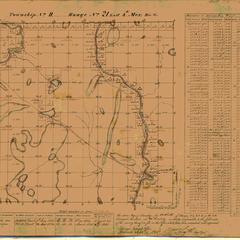 [Public Land Survey System map: Wisconsin Township 11 North, Range 21 East]