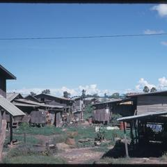 Urban slums--back of United States Aid compound