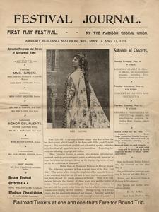 'Festival Journal' cover