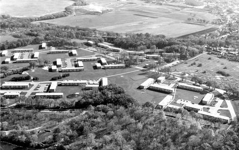 Aerial view of Eagle Heights