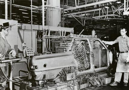 American Motors car assembly