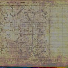 [Public Land Survey System map: Wisconsin Township 37 North, Range 19 East]