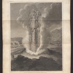 Eruption of the Geyser