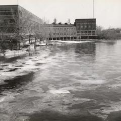 Water pollution on Wisconsin River