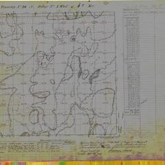 [Public Land Survey System map: Wisconsin Township 36 North, Range 01 West]